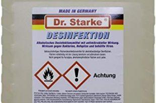 Dr. Starke Flaechendesinfektionsmittel Desinfektionsmittel 5 Liter Desinfektion Schnelldesinfektion 310x205 - Dr. Starke Flächendesinfektionsmittel Desinfektionsmittel 5 Liter Desinfektion Schnelldesinfektion